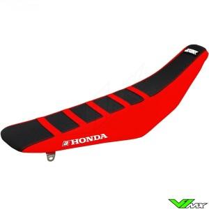Seat cover Blackbird Zebra black/red - Honda CRF250R CRF450R