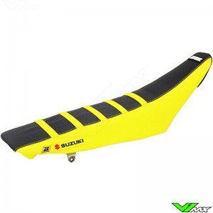 Seat cover Blackbird Zebra black/yellow - Suzuki RMZ250