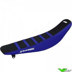 Seat cover Blackbird Zebra black/blue - Yamaha YZ125 YZ250