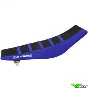 Seat cover Blackbird Zebra black/blue - Yamaha YZF250 YZF450 WR250F