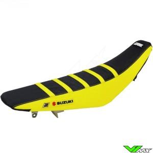 Seat cover Blackbird Zebra black/yellow - Suzuki RM125 RM250