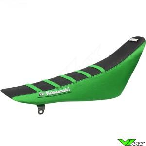 Seat cover Blackbird Zebra black/green - Kawasaki KX125 KX250