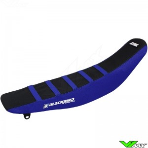 Zadelovertrek Blackbird Zebra zwart/blauw - Yamaha YZF250