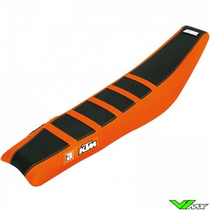 Seat cover Blackbird Zebra black/orange - KTM