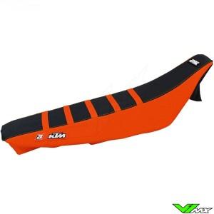 Seat cover Blackbird Zebra black/orange - KTM