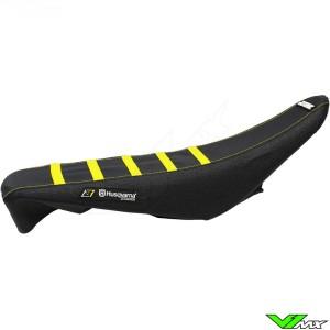 Seat cover Blackbird Zebra black/yellow - Husqvarna FC250 FC350 FC450 FE250 FE450 FE501 TC125 TC250 TE125 TE250 TE300