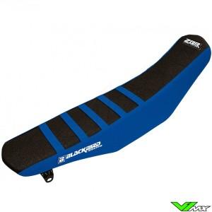 Seat cover Blackbird Zebra black/blue - Yamaha YZF250 YZF450 WR250F WR450F