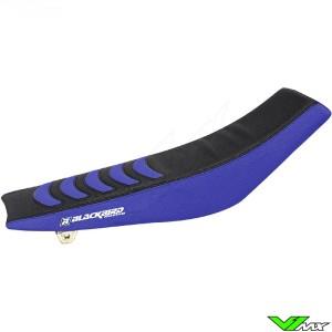 Seat cover Blackbird Double grip 3 black/blue - Yamaha YZF250 YZF450 WR250F