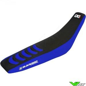 Zadelovertrek Blackbird Double grip 3 zwart/blauw - Yamaha YZF250 YZF450 WR250F WR450F