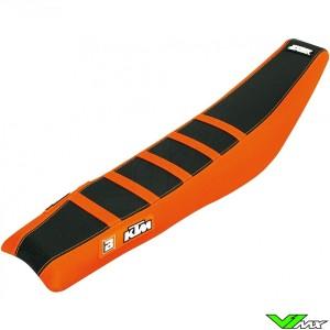 Seat cover Blackbird Zebra black/orange - KTM 125SX 150SX 250SX 250SX-F 350SX-F 450SX-F