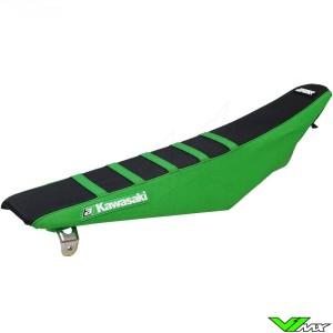 Seat cover Blackbird Zebra black/green - Kawasaki KXF250 KXF450