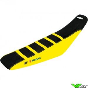 Seat cover Blackbird Zebra black/yellow - Suzuki RMZ450