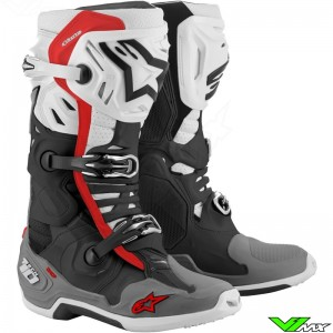 Alpinestars Tech 10 Supervented Motocross Boots - Red