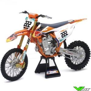 Schaalmodel 1:6 - KTM 450 SX-F Tony Cairoli
