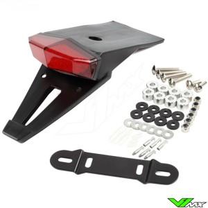 DRC MOTO LED EDGE2 Achterlicht / Kenteken houder Plastic