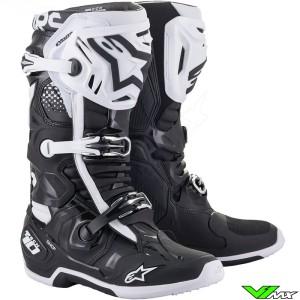 Alpinestars TECH 10 Motocross Boots - Black / White