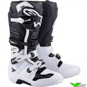 Alpinestars TECH 7 Crosslaarzen - Wit / Zwart