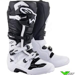 Alpinestars TECH 7 Motocross Boots - White / Black