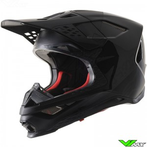 Alpinestars Supertech S-M8 Echo Motocross Helmet - Black / Anthracite / Matt / Gloss