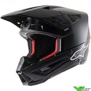 Alpinestars S-M5 Motocross Helmet - Black / Mat