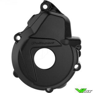 Polisport Ignition Cover Protector Black - KTM 450 EXC 13-16