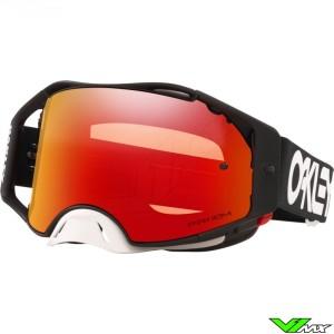 Oakley Airbrake Motocross Goggle - Factory Pilot Black - Prizm Torch Lens