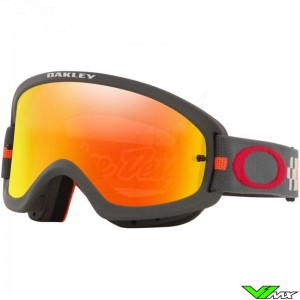 Oakley XS O Frame 2.0 Pro Kinder Crossbril - TLD Checkerboard Rood
