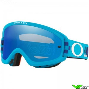 Oakley XS O Frame 2.0 Pro Youth Motocross Goggle - TLD Checkerboard Blue