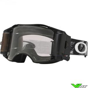 Oakley Airbrake Motocross Goggle with Roll-off - Matte Zwart