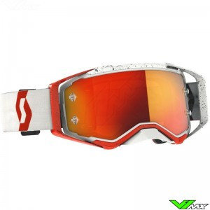 Scott Prospect Motocross Goggle - Red / White