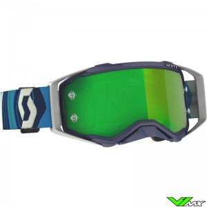 Scott Prospect Motocross Goggle - Blue / Green