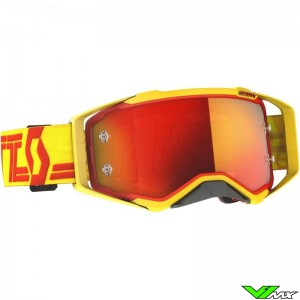 Scott Prospect Motocross Goggle - Yellow / Red