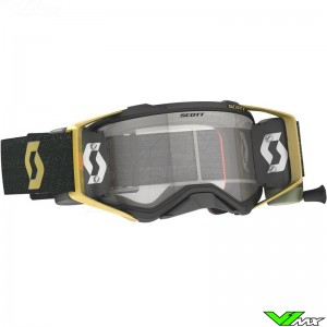Scott Prospect WFS Motocross Goggle with Roll-off - Black / Gold