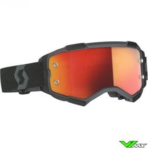 Scott Fury Motocross Goggle - Black
