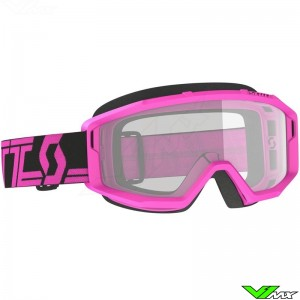 Scott Primal Clear Motocross Goggle - Pink