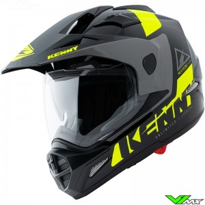 Kenny Extreme Enduro Helmet - Black / Fluo Yellow