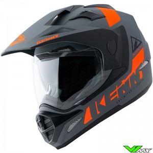 Kenny Extreme Enduro Helmet - Grey / Orange / Mat