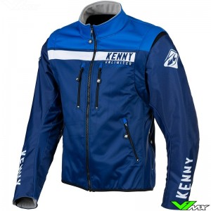 Kenny Softshell 2021 Enduro Jacket - Blue