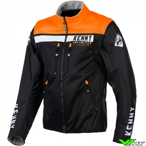 Kenny Softshell 2021 Enduro Jacket - Black / Orange