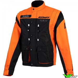 Kenny Track 2021 Enduro Jacket - Orange