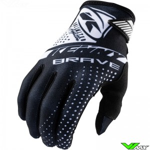 Kenny Brave 2021 Youth Motocross Gloves - Black