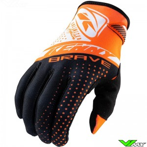 Kenny Brave 2021 Youth Motocross Gloves - Orange