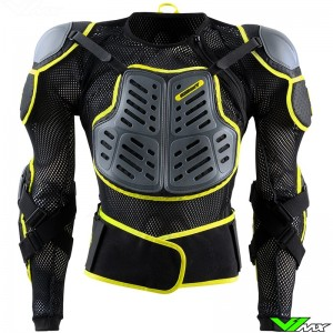 Kenny Track Protection Jacket - Black / Fluo Yellow