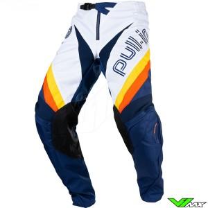 Pull In Challenger Master 2021 Motocross Pants - Blue