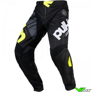 Pull In Challenger Race 2021 Motocross Pants - Black / Fluo Yellow