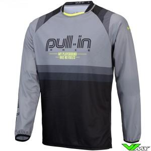 Pull In Challenger Master Motocross Jersey - Grey / Version2 (L/XL/XXL)