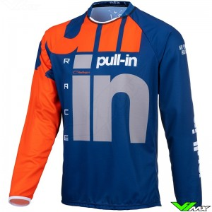 Pull In Challenger Race 2021 Motocross Jersey - Navy / Orange