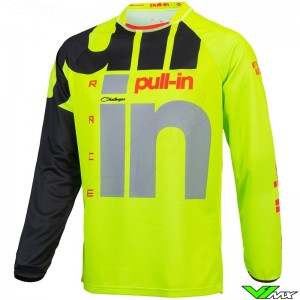 Pull In Challenger Race 2021 Motocross Jersey - Lime