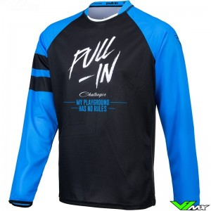 Pull In Solid 2021 Motocross Jersey - Blue