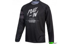 Pull In Challenger Solid 2021 Youth Motocross Jersey - Black